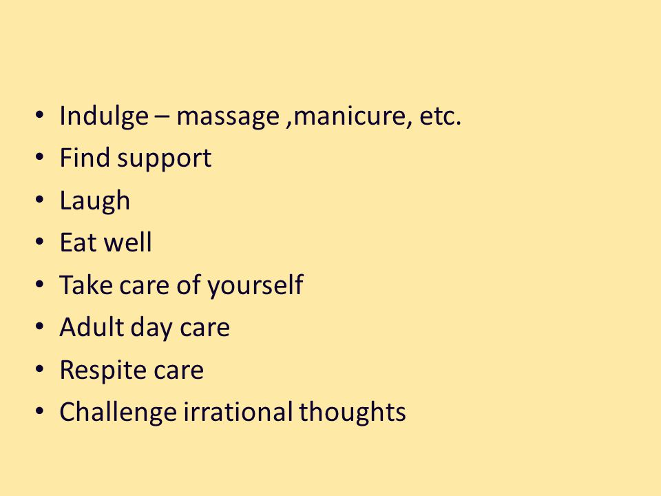 Indulge – massage,manicure, etc.