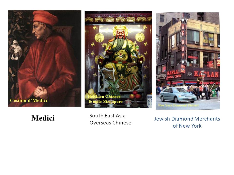 Medici Jewish Diamond Merchants of New York South East Asia Overseas Chinese