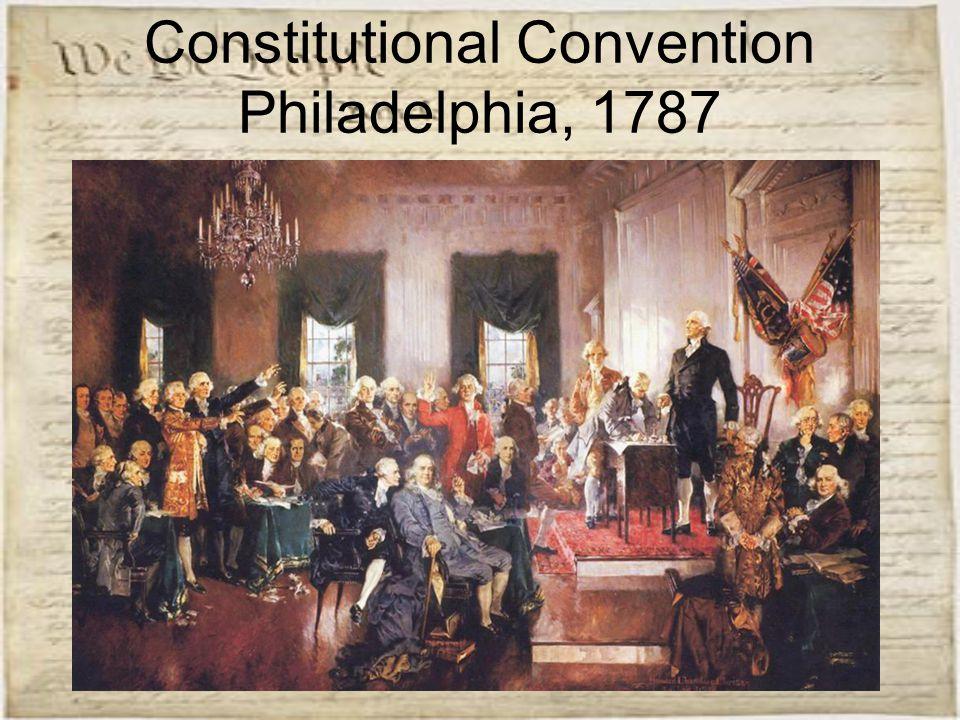 Constitutional Convention Philadelphia, 1787