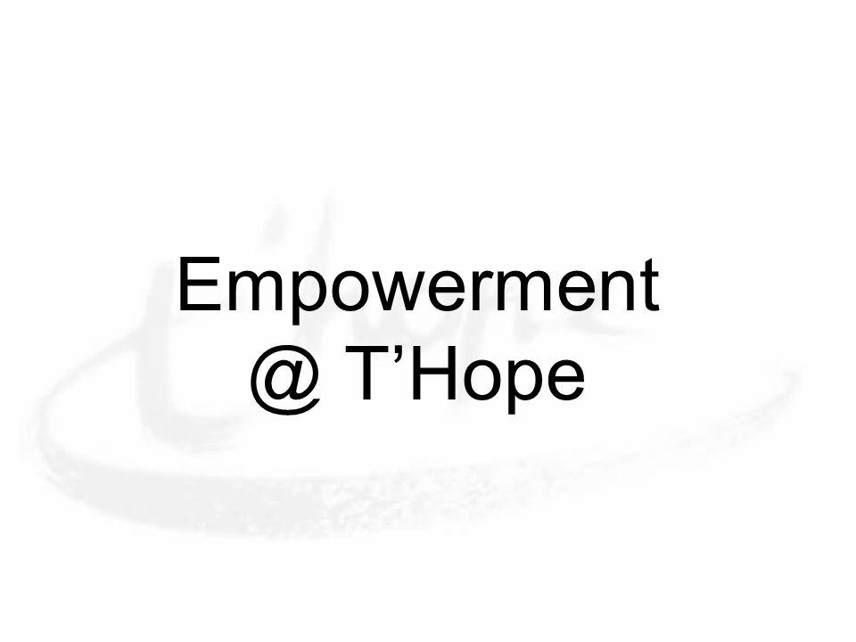 Empowerment @ T'Hope