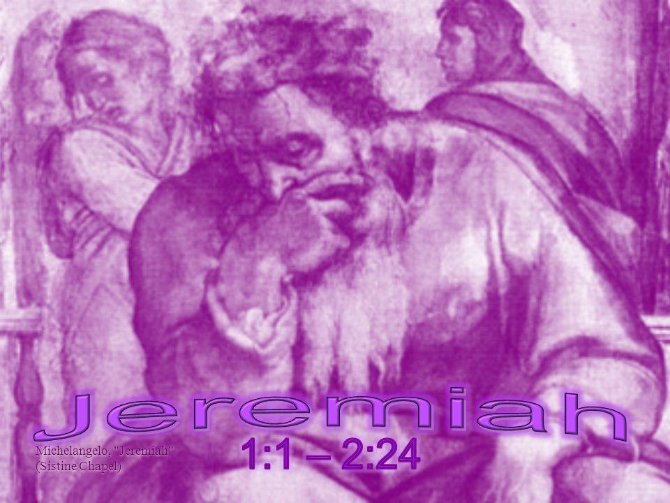 Michelangelo, Jeremiah (Sistine Chapel)