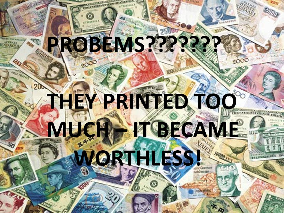 Multipl e Choice Questi on How did advanced printing invention limit the the use of other Chinese invention –paper money.