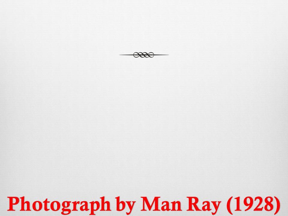 Photograph by Man Ray (1928)Photograph by Man Ray (1928)