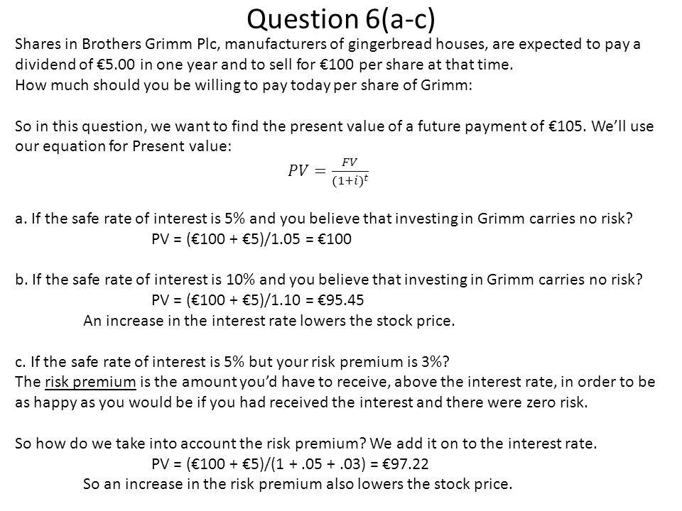 Question 6(a-c)