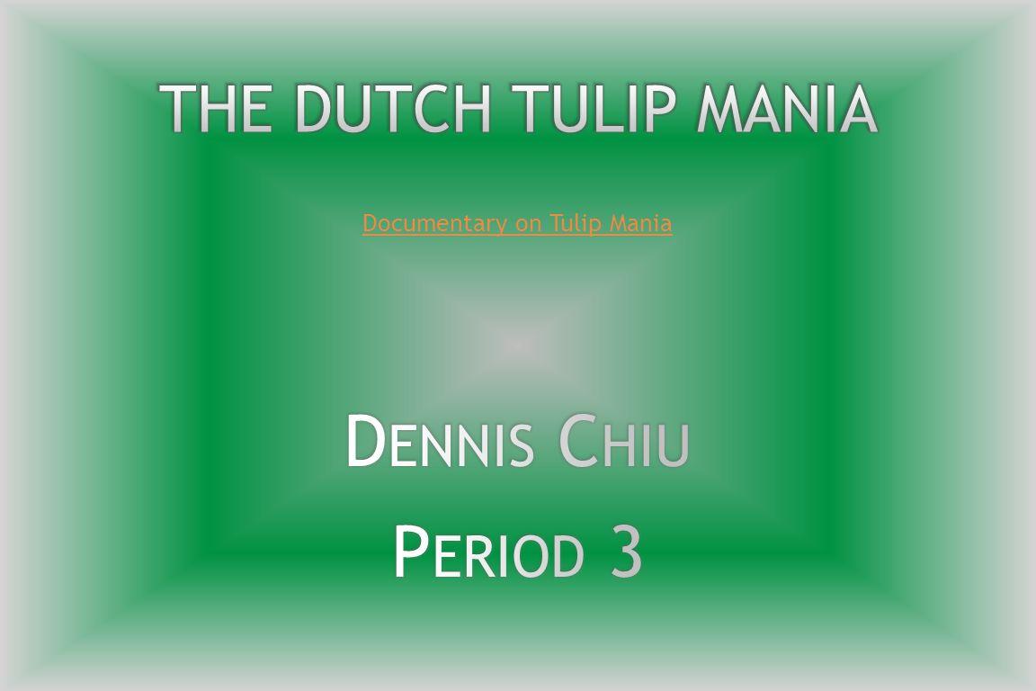 Documentary on Tulip Mania