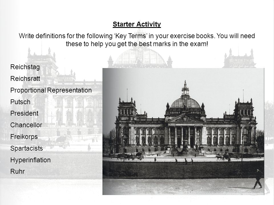 MustDescribe two ways that the Weimar Republic recovered between 1924 and 1929.
