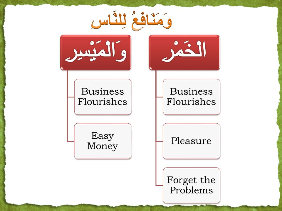 Business Flourishes Easy Money Business Flourishes Pleasure Forget the Problems