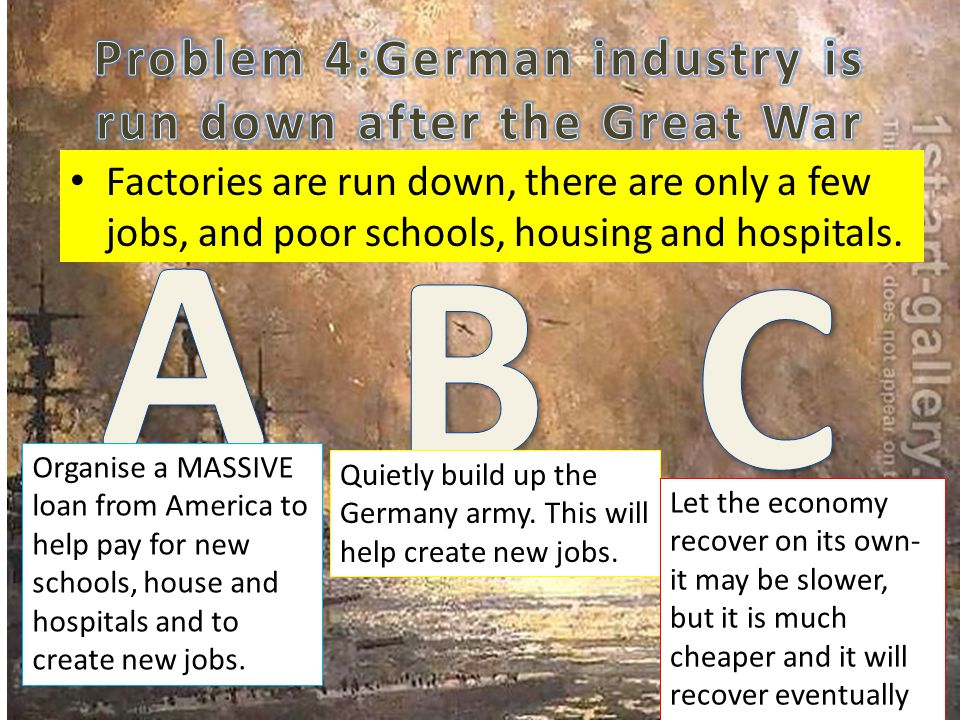 Factories are run down, there are only a few jobs, and poor schools, housing and hospitals.
