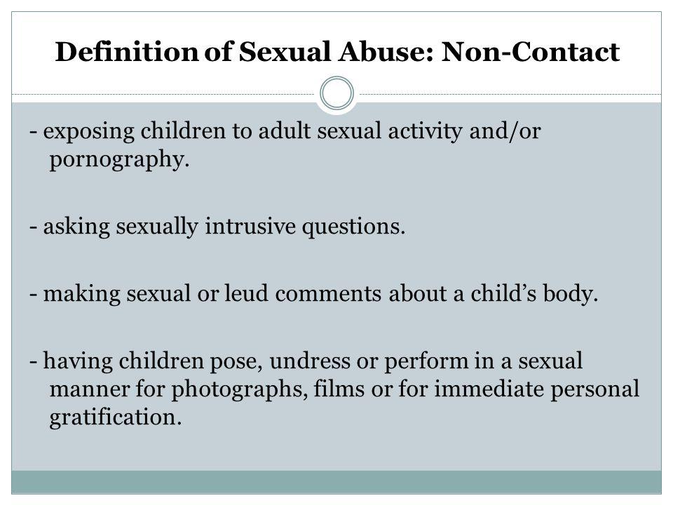 Boys and abuse