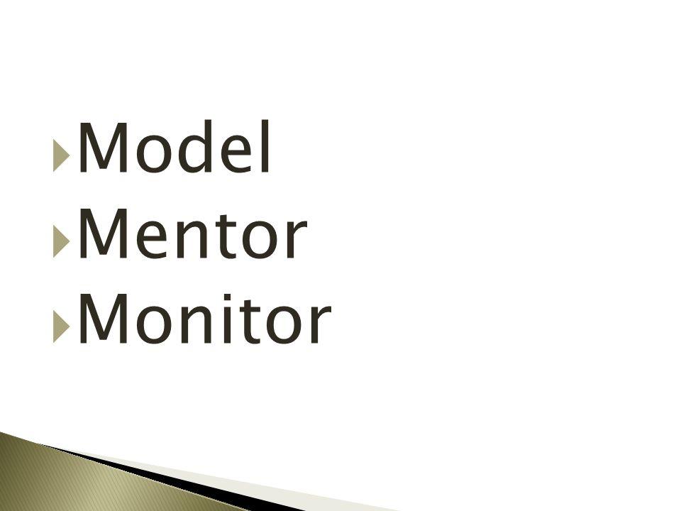  Model  Mentor  Monitor