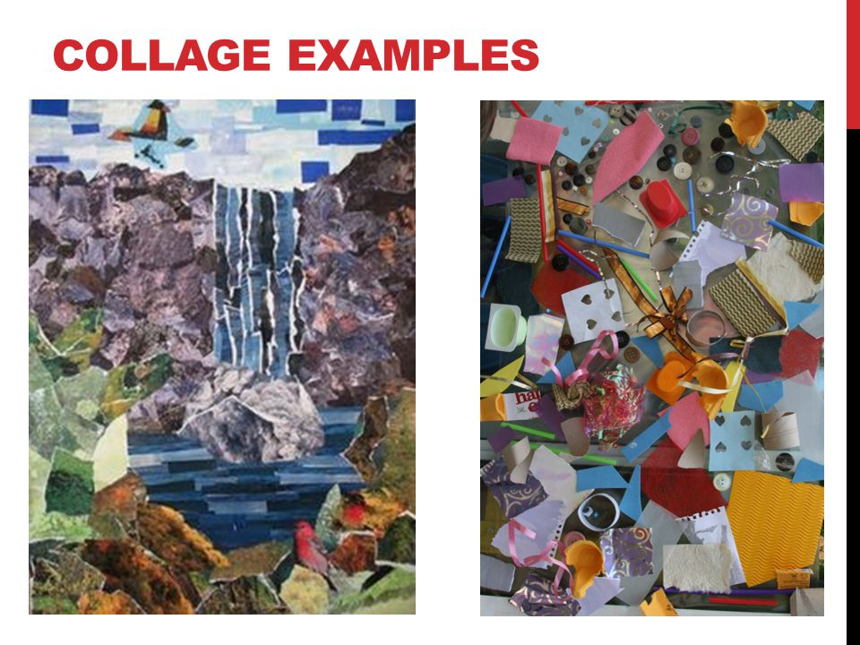 COLLAGE EXAMPLES