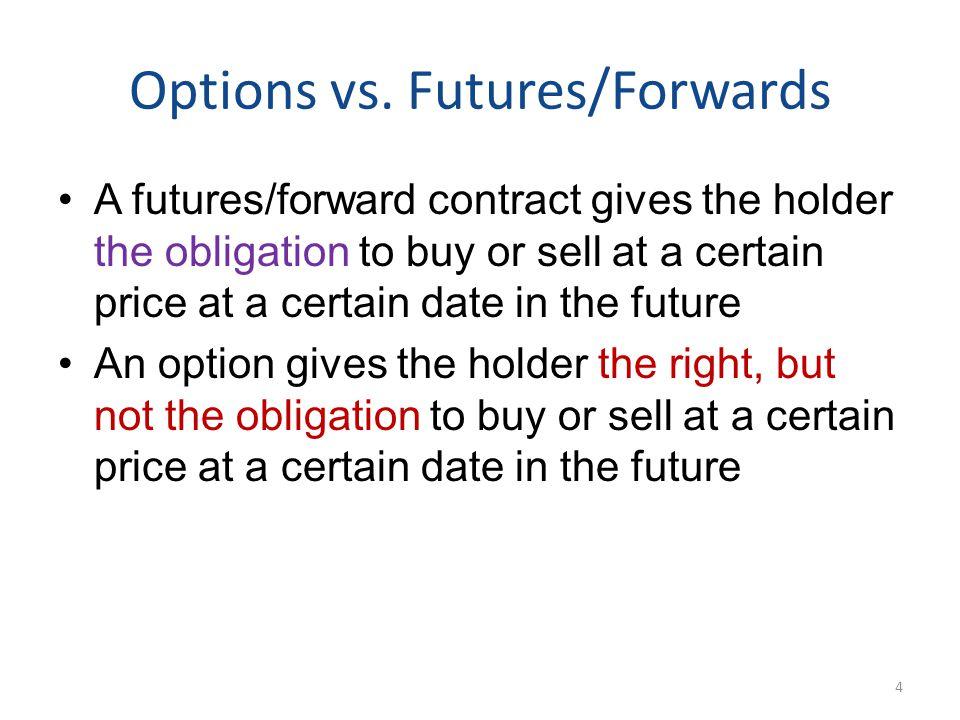 Options vs.