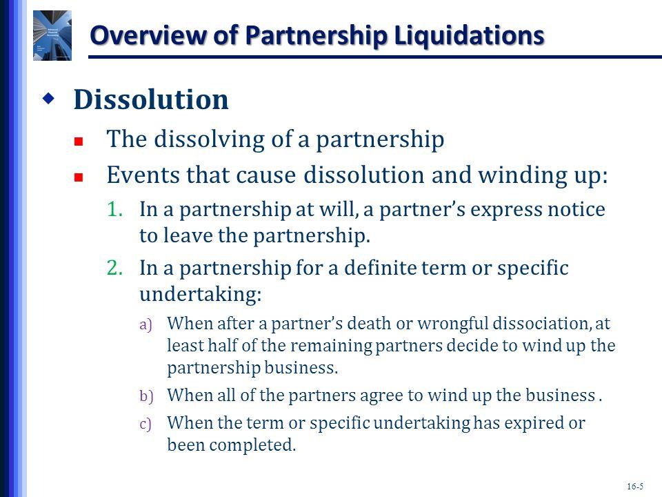 16-26 Huey, Dewey, and Louie Statement of Realization and Liquidation AssetsOutsidePart LoanPartners Capital CashNoncashLiabilitiesDeweyHueyDeweyLouie Beginning Balance2,000)86,000(35,000)(17,000)(11,000)(13,000)(12,000) NR Write-off(4,000)4,000) Group Exercise 2: Solution Proceeds$46,000)  Book Value (82,000) Loss$(36,000) Huey (3/8) ($13,500) Dewey (3/8) ($13,500) Louie (2/8) ($9,000)