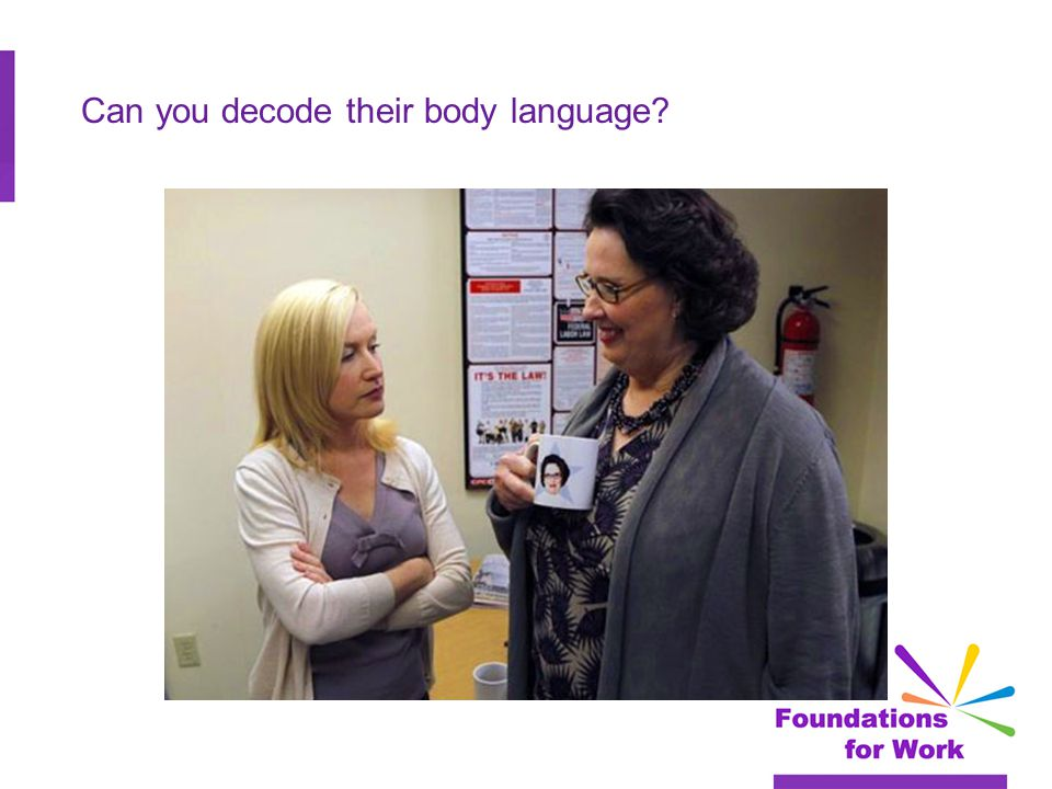 Can you decode their body language?