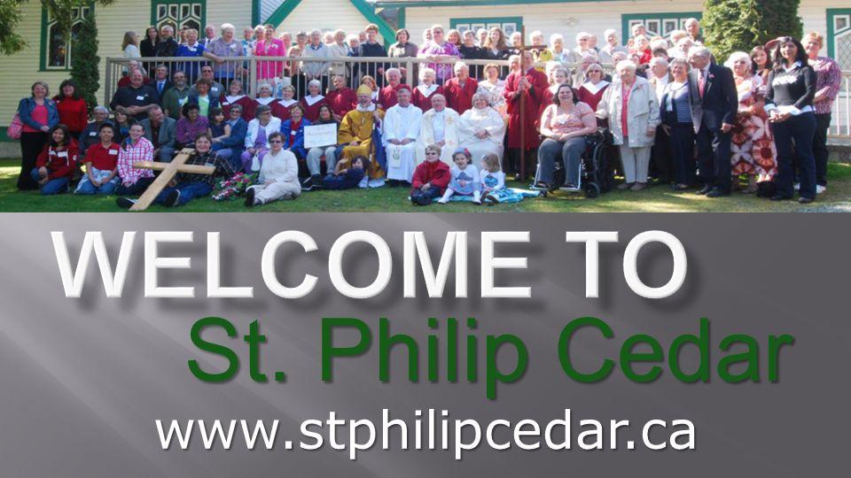 St. Philip Cedar www.stphilipcedar.ca