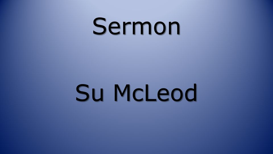 Sermon Su McLeod