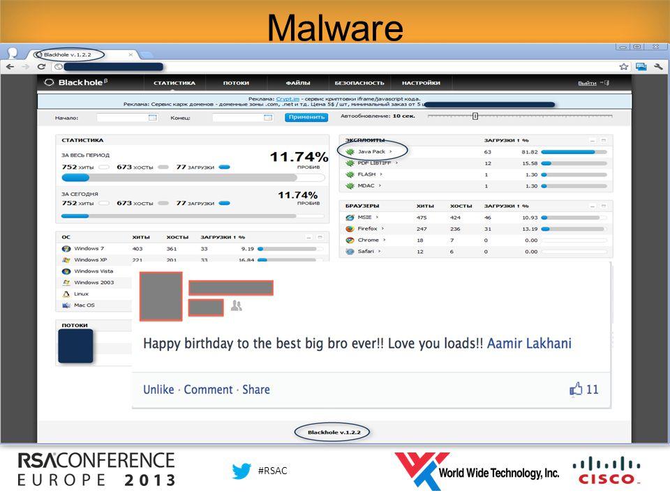 #RSAC Malware