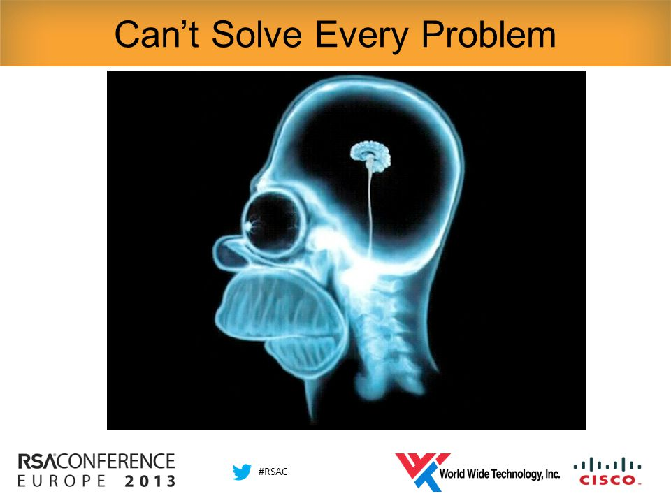 #RSAC Can't Solve Every Problem