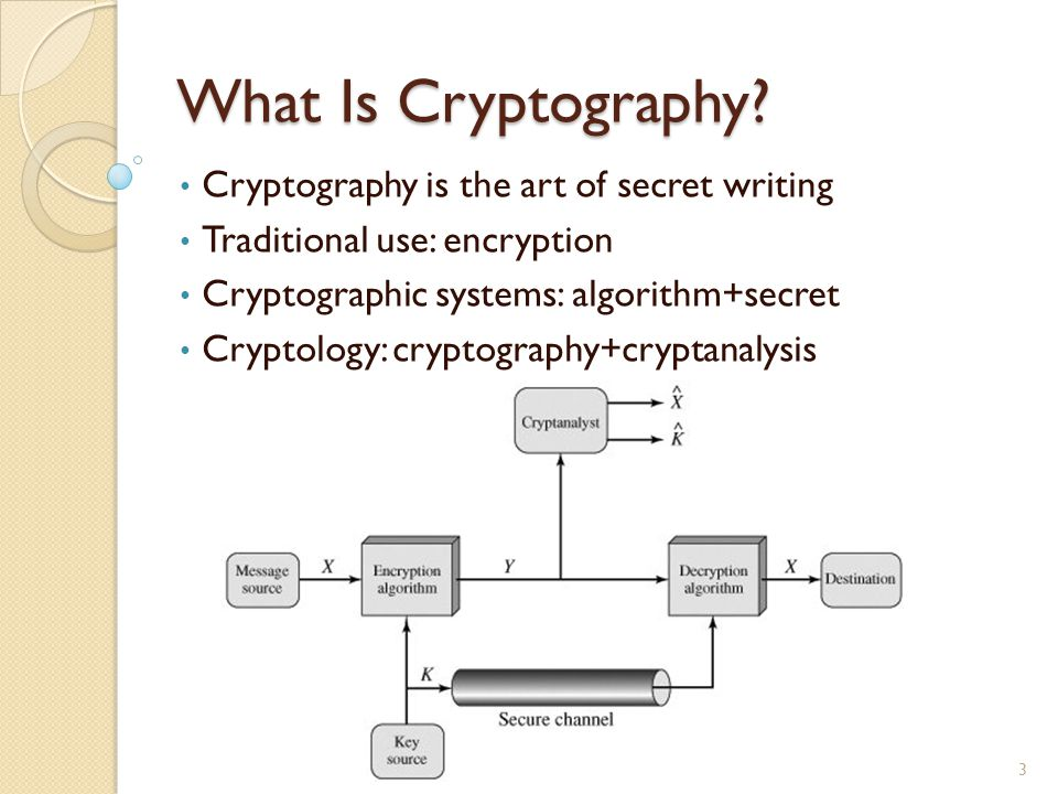 Types of Cryptography Operations used to transform plaintext to ciphertext: - Substitution: each element in plaintext is mapped into another element - Transposition: elements in plaintext are rearranged Number of keys used: - Single-key: secret-key cryptography - Two-key: public-key cryptography - Zero-key: hash functions The way plaintext is processed: - Block cipher: input & output in blocks - Stream cipher: input & output in bits 4