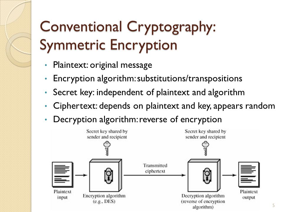 Security Notions Unconditionally secure: ciphertext generated by the scheme does not contain enough information to determine uniquely the corresponding plaintext, no matter how much ciphertext is available.
