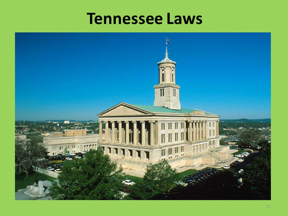 Tennessee Laws 11