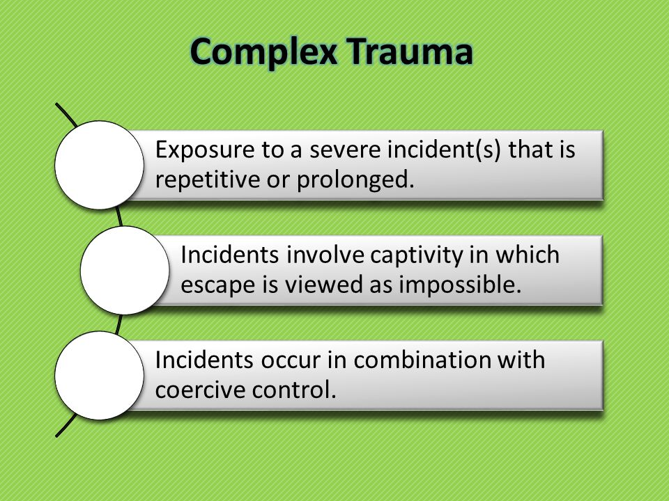 Exposure to a severe incident(s) that is repetitive or prolonged.