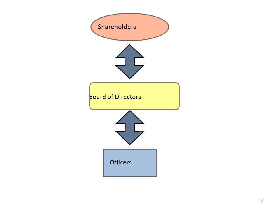 Officers Shareholders Board of Directors 12