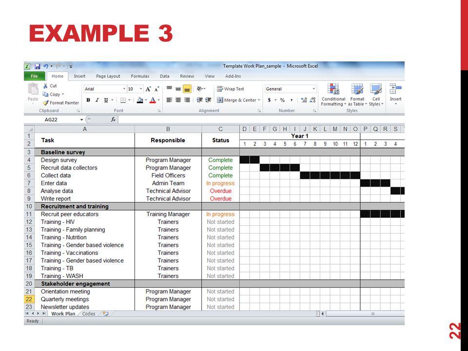EXAMPLE 3 22