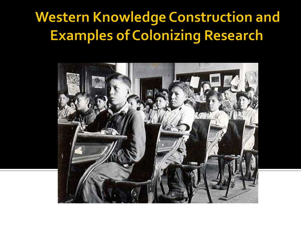 Colonial Research Practice: Examples of Knowledge/Power Nexus