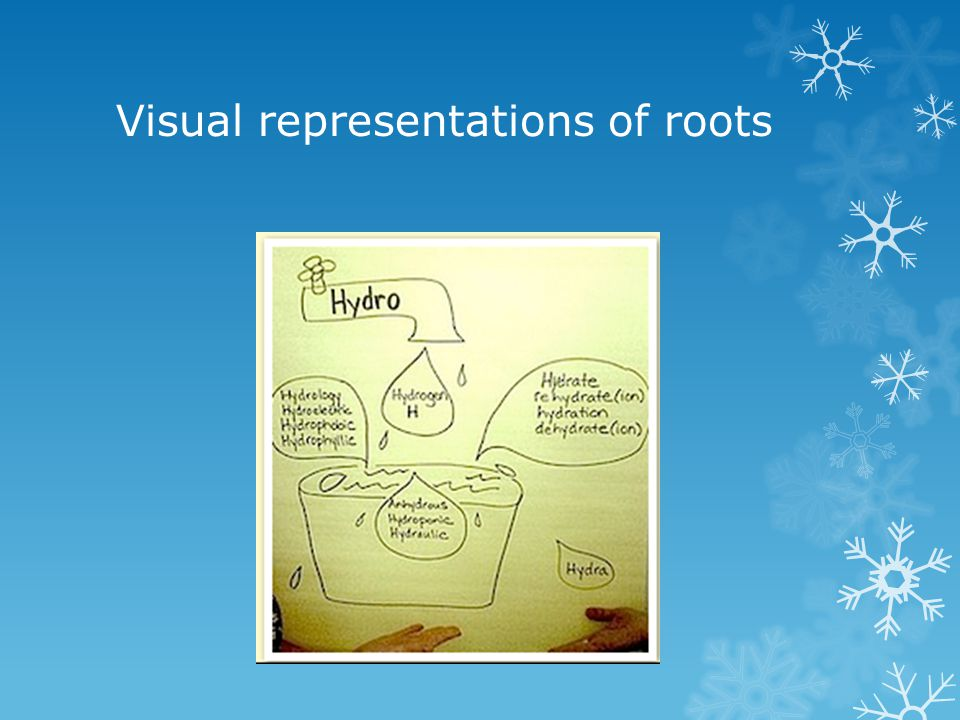 Visual representations of roots