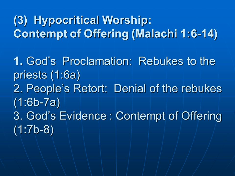 Worship – is our response to what we value most Worship – from the word worth Means worthy .