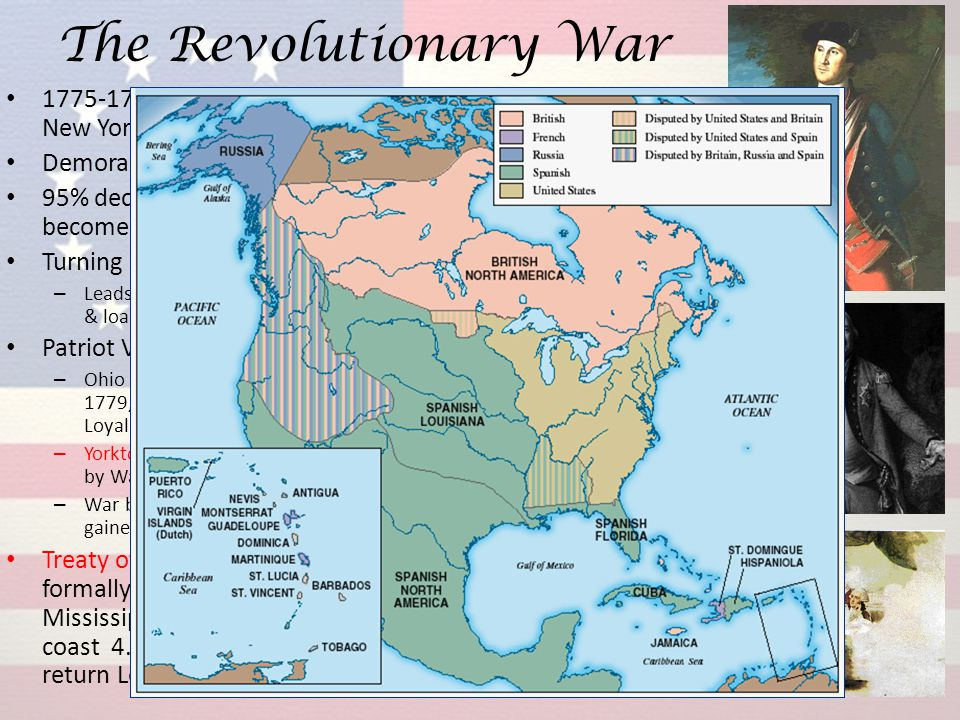 The Revolutionary War 1775-1777 series of losses including British occupation of New York and Philadelphia Demoralized winter of 1777-1778 in Valley F