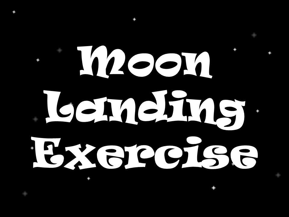 Moon Landing Exercise