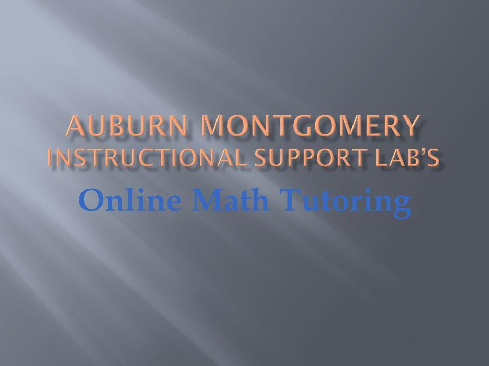 You will find everything you need in this tutorial to maximize your online tutoring experience.