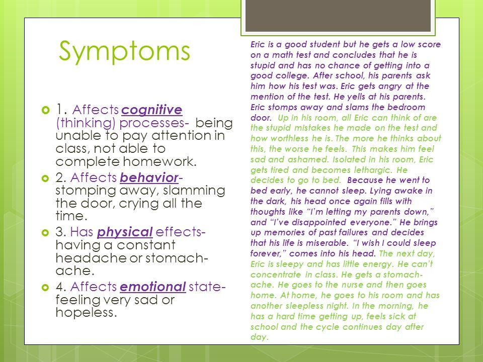 Symptoms  1.