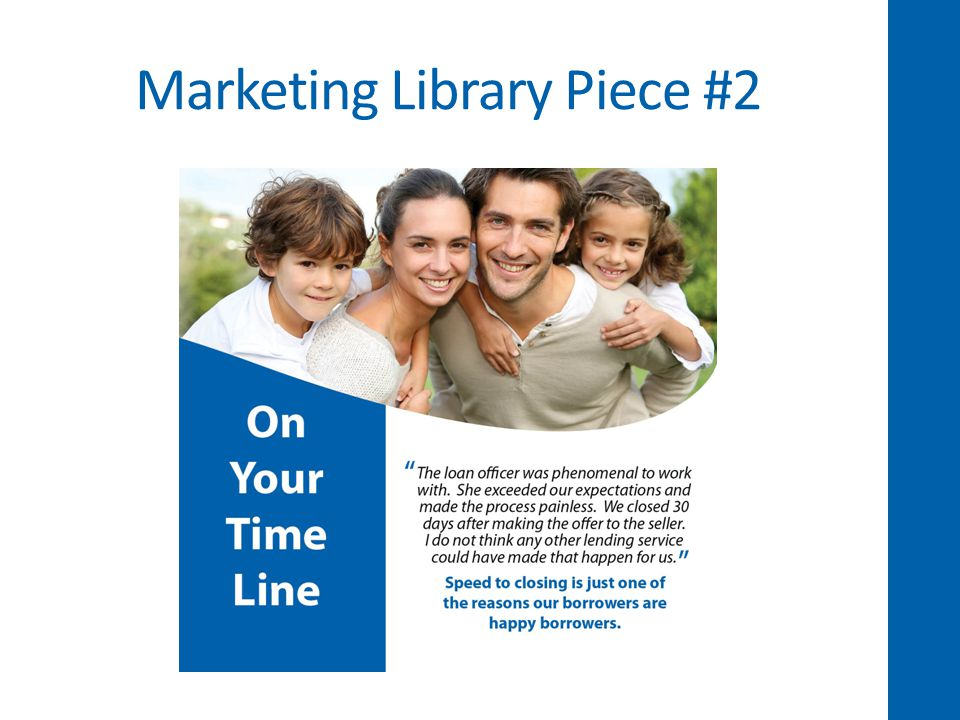 Marketing Library Piece #2