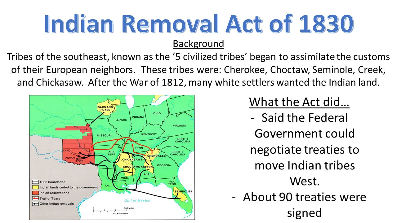 Background Tribes of the southeast, known as the '5 civilized tribes' began to assimilate the customs of their European neighbors.