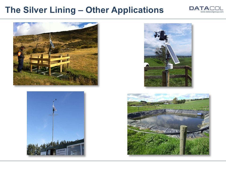 The Silver Lining – Other Applications