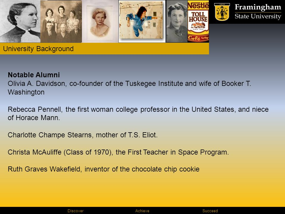 Discover AchieveSucceed Notable Alumni Olivia A.