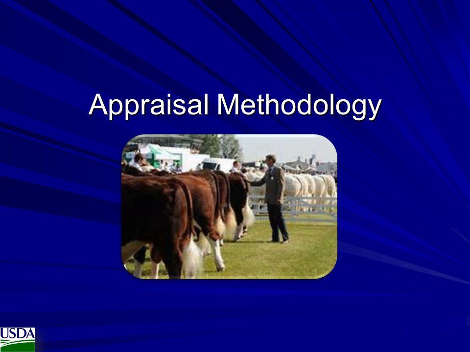 Appraisal Methodology