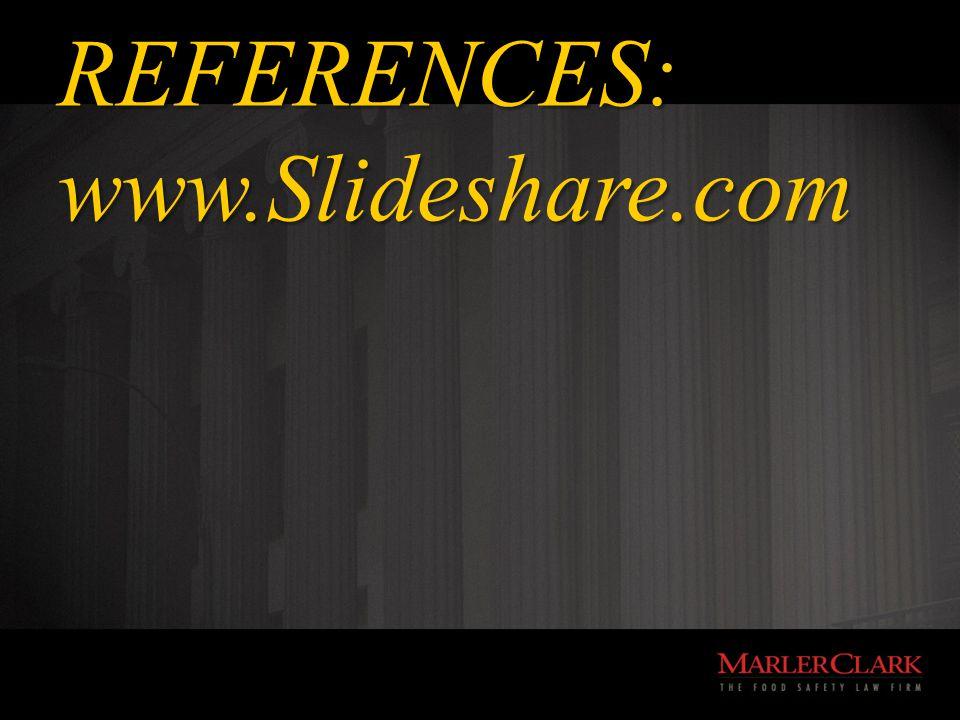 REFERENCES: www.Slideshare.com