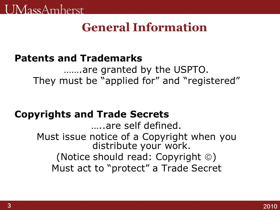 4 2010 What is a Patent.