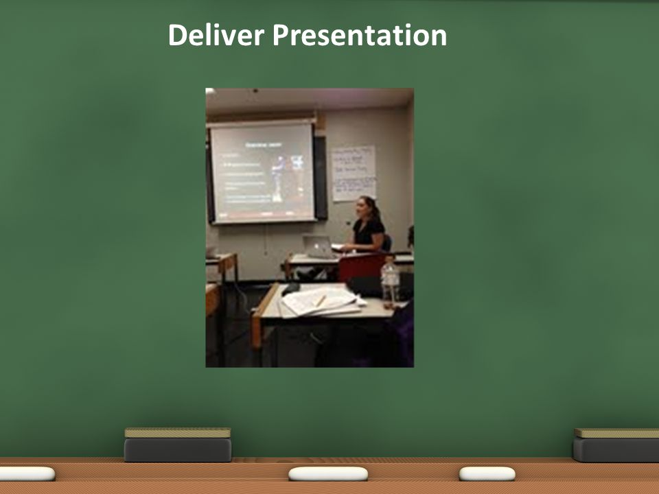 These pictures were taken from two different presentations in order to meet all of the requirements.