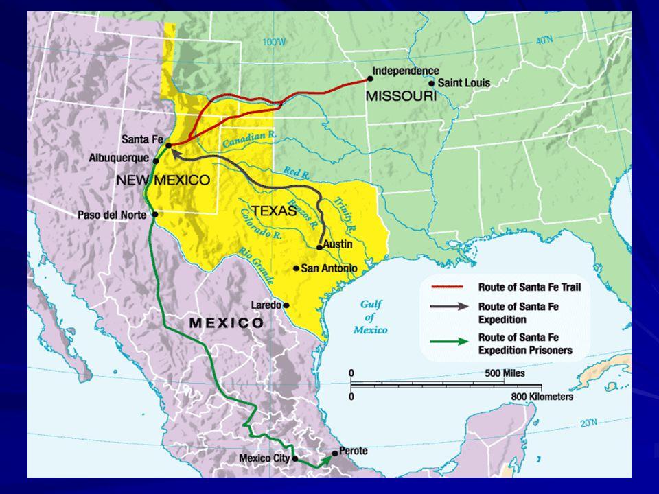 Santa Fe Expedition, 1841