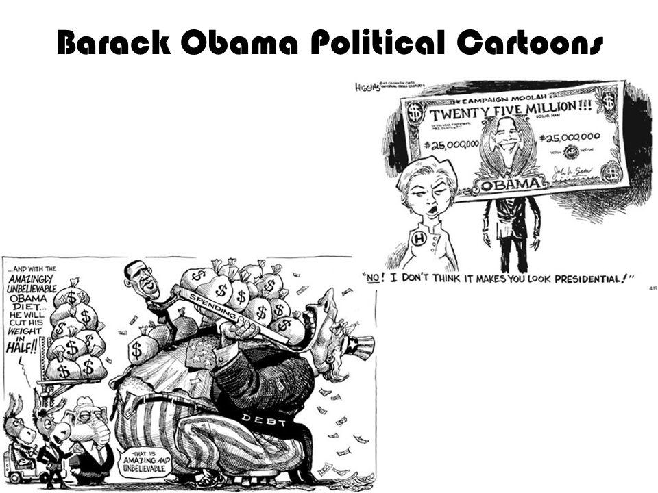 Barack Obama Political Cartoons
