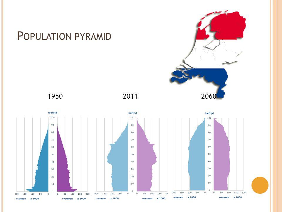 P OPULATION PYRAMID 1950 2011 2060