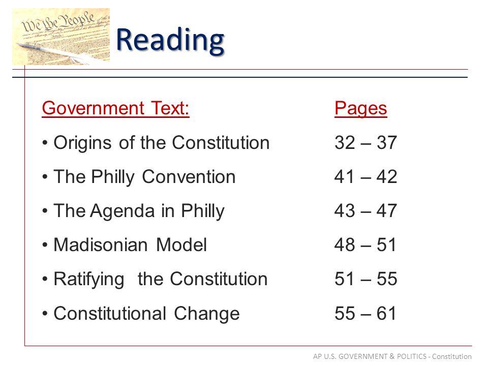 Reading AP U.S.