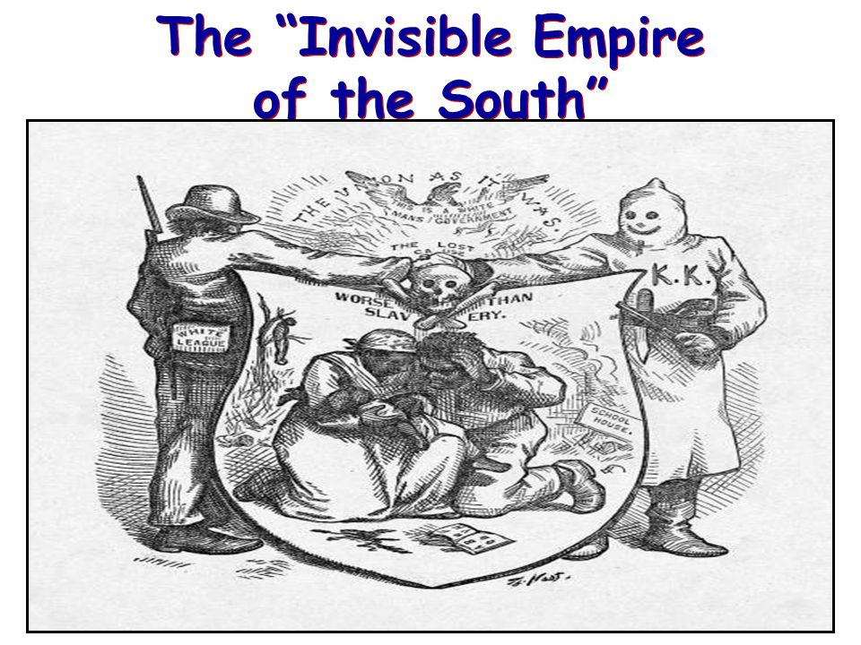 © 2005 Clairmont Press The Invisible Empire of the South