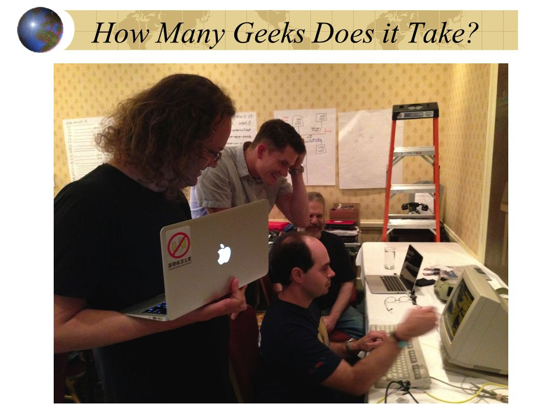 How Many Geeks Does it Take 36