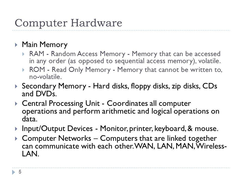 Components of a Computer 6